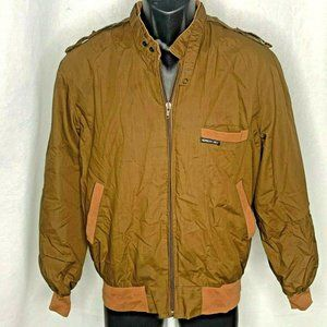 Vintage Members Only Iconic Racer Jacket 40 Brown